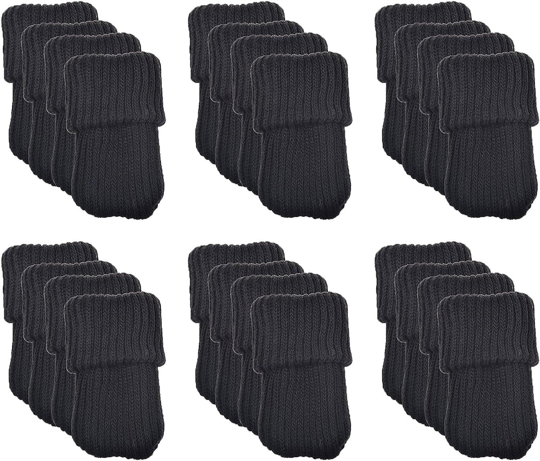 marr/ón BHBAZUHAZA2484 24 protectores de lana para patas de silla Meta-U/®