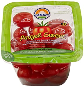 Sunset Angel Sweet Grape Tomatoes, One Pint