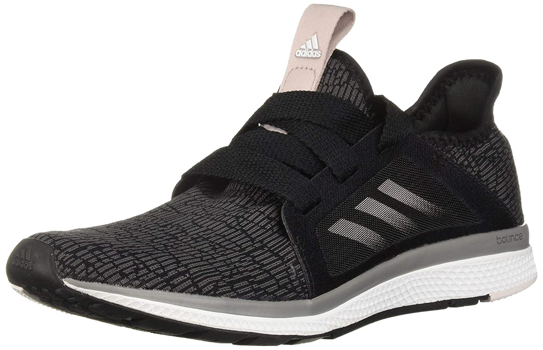 adidas Performance Women's Edge Lux Running Shoe, BlackVapour Grey MetallicOrchid Tint, 10.5 M US