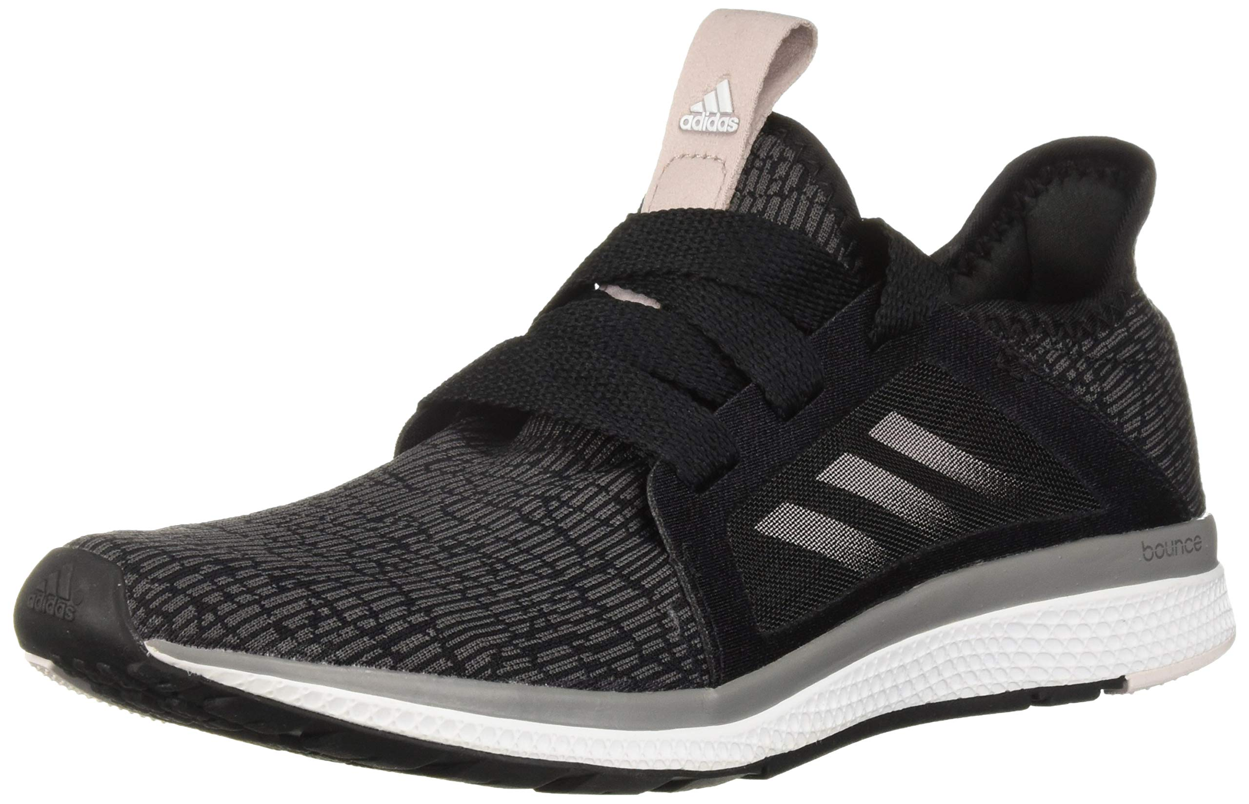 adidas Performance Women's Edge Lux W Running Shoe, Black/Vapour Grey Metallic/Orchid Tint, 9 M US