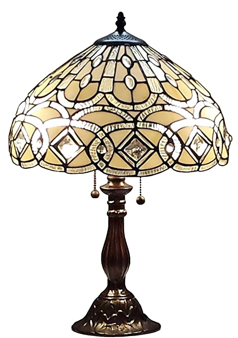 Amazon.com: Amora estilo Tiffany Iluminación am021tl14 21 ...
