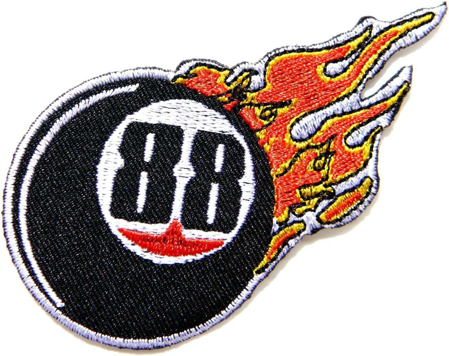 88 ochenta y ocho infinito número de suerte Billar Snooker llama ...