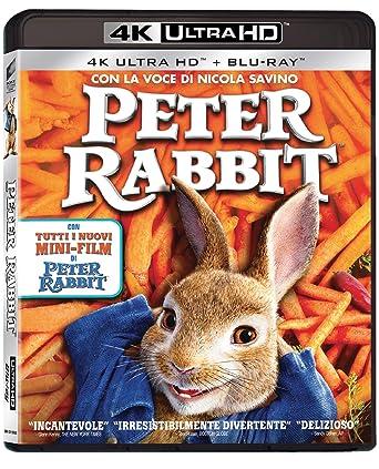 Peter Rabbit (4K Uhd+Blu-Ray) [Italia] [Blu-ray]: Amazon.es ...