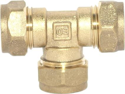 Imagen dePlumb-Pak PF05-5AMZ - Accesorio para tubería (tamaño: 15mm, pack de 5)
