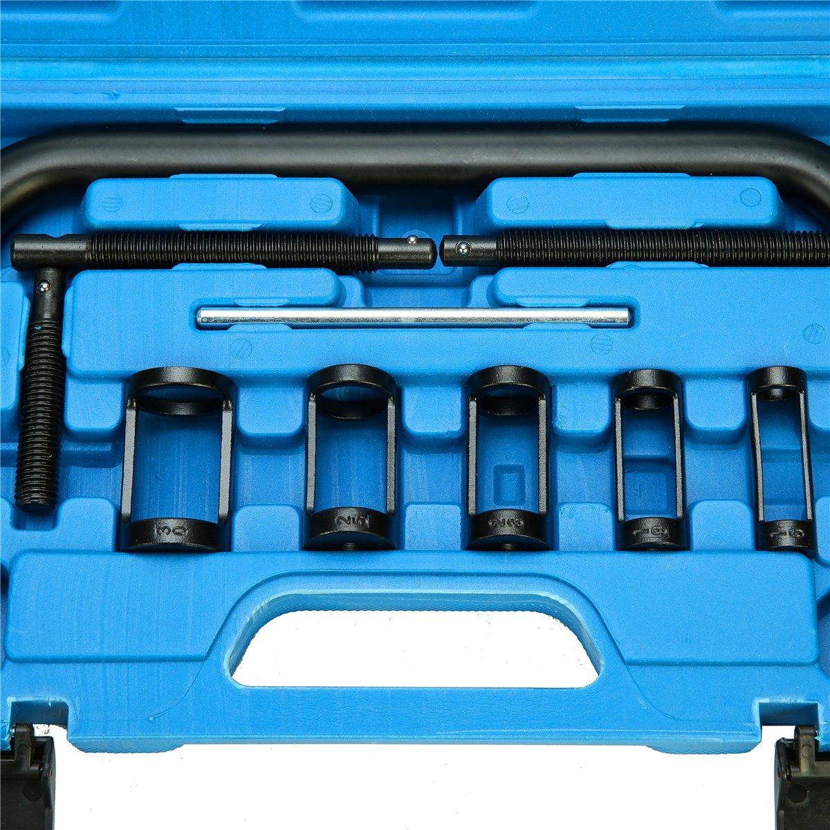 8milelake AUTO Solid Valve Spring Compressor Automotive Tool Set Repair Tool Kit by 8MILELAE (Image #6)