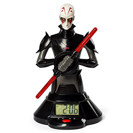 Amazon Star Wars The Inquisitor Lightsaber Clock Toys Games