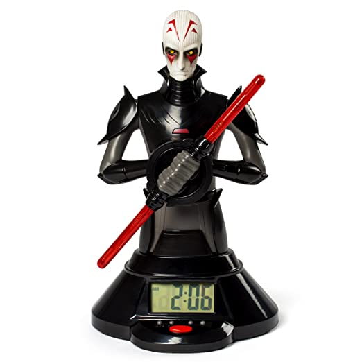 Amazon Star Wars The Inquisitor Lightsaber Clock $12.18