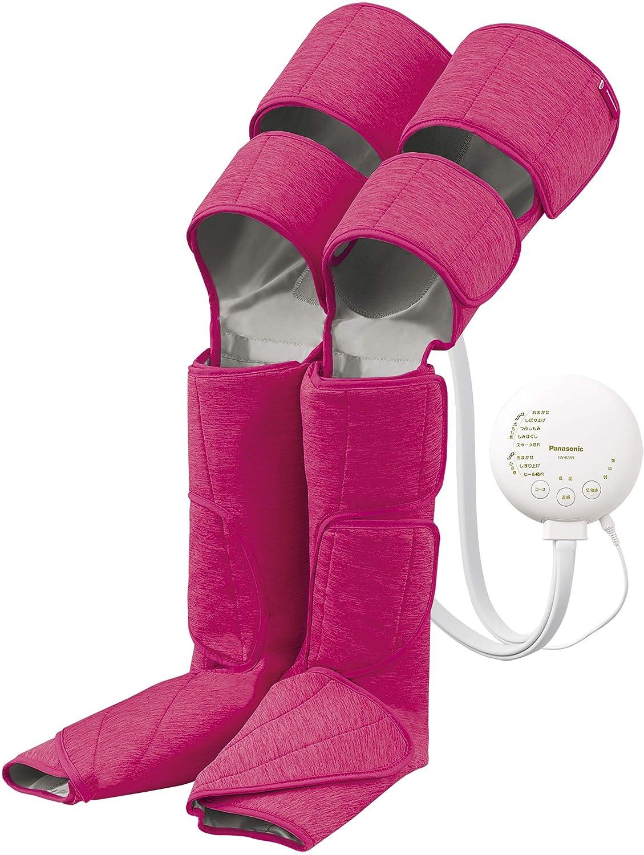 パナソニック エアーマッサージャー レッグリフレ ひざ/太もも巻き対応 温感機能搭載 ピンク EW-RA99-P