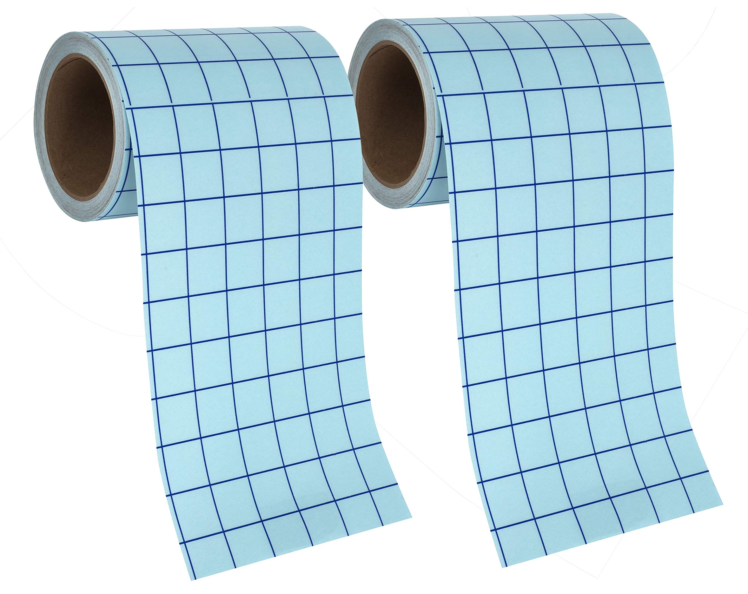 Angel Crafts Transfer Paper Tape 2pk: Craft Transfer Tape for Vinyl Application with Grid Lines - Self Adhesive Transfer Paper Roll Compatible with Cricut, Silhouette Cameo - 6 Inch by 50 Feet, Clear by Angel Crafts