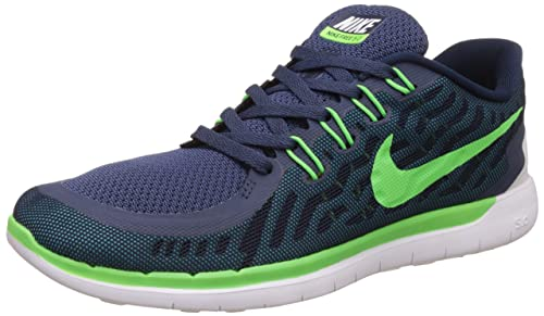 094e8ad824d Image Unavailable. Image not available for. Colour  Nike Men s Free Run 5.0  Navy Running Shoes ...