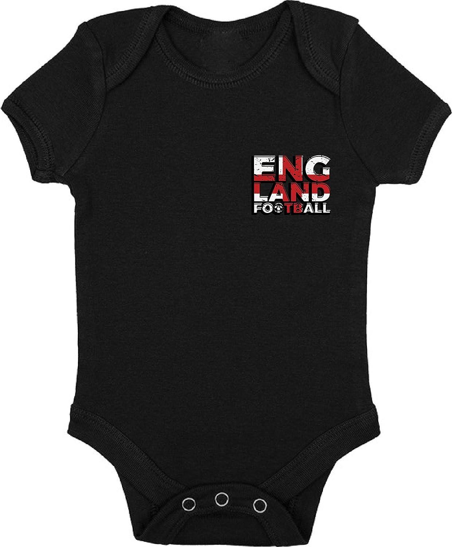 England Football Short Sleeve Baby Bodysuit English Football Jersey One Piece England Soccer Baby Bodysuit Short Sleeve Baby England Gifts
