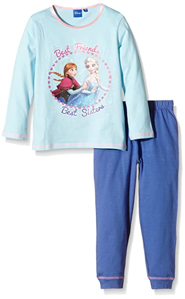 Disney Frozen/Best Friends-Pijama Niños Azul Blue (Flash) 4 años