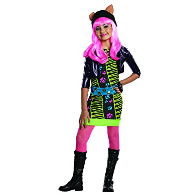 Monster High Howleen Costume, Medium: Toys & Games