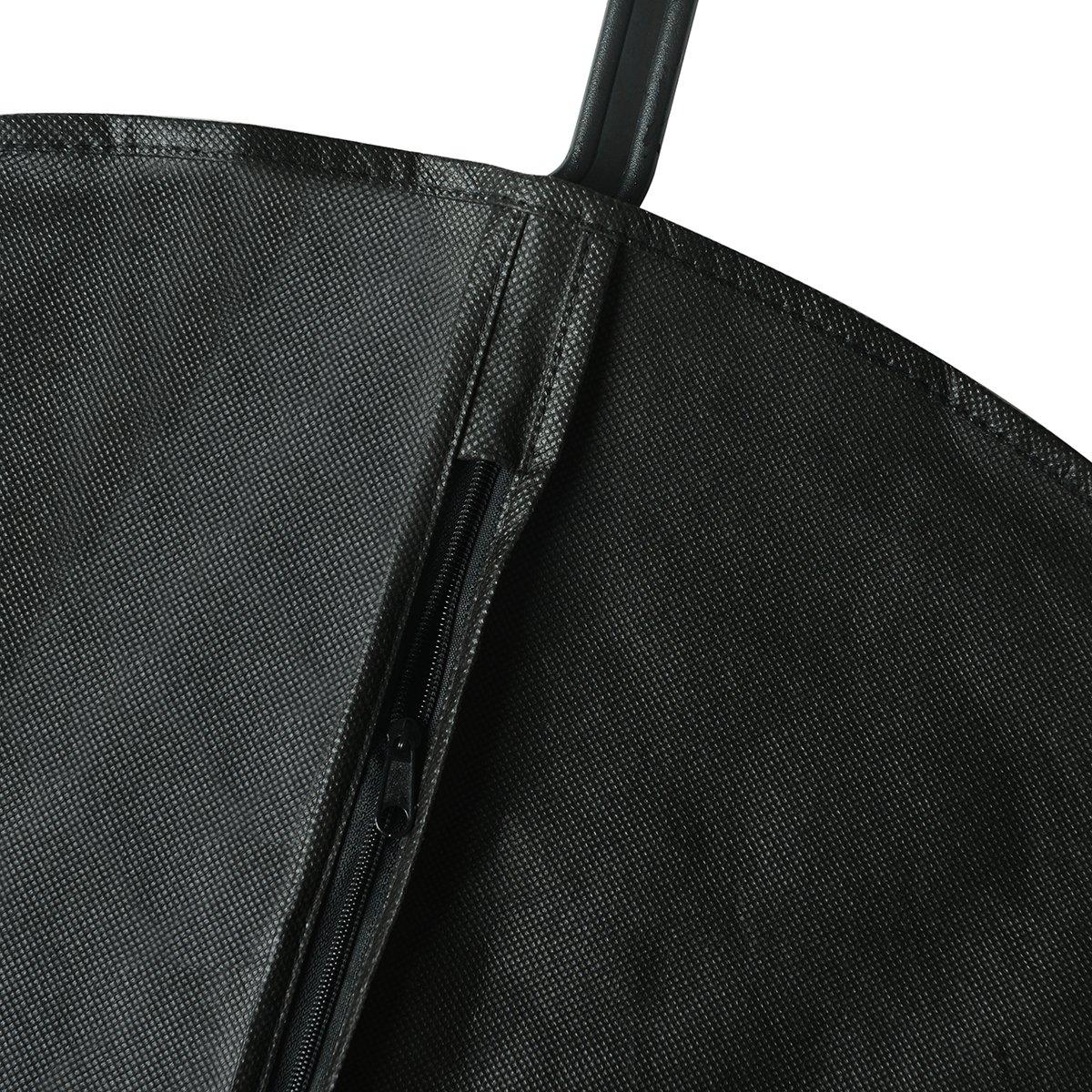 TLIYE Kleidersack 3er Set inkl Schuhbeutel Premium Kleiderh/ülle mit Sichtfenster f/ür Anzug Kleid und Hemden Atmungsaktive Business Reise Anzugtasche
