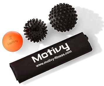 motivy Self liberación miofascial bola con pinchos – juego de 2 ...