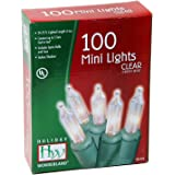 Holiday Wonderland 100-Count Clear Christmas Light Set (4-pack)