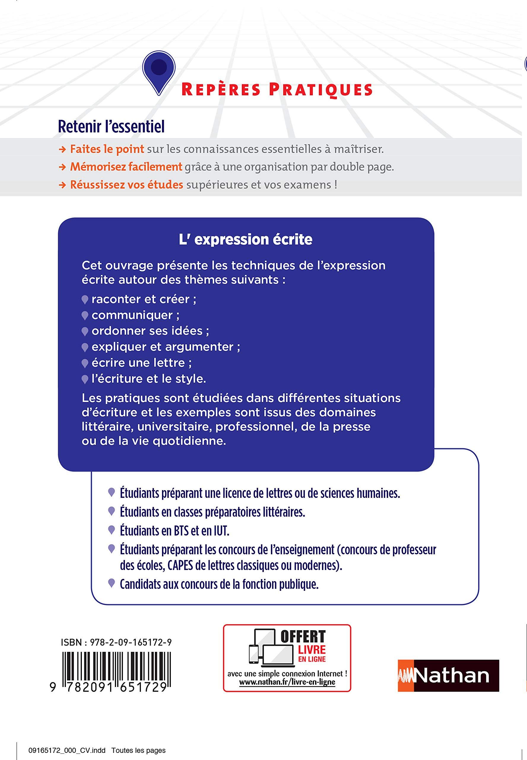 43f4fbaa5a0 Amazon.fr - L expression écrite - Claude Peyroutet