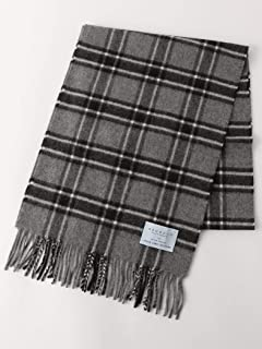 Green Label Relaxing Wool Angora Scarf 3236-499-0909: Dark Grey