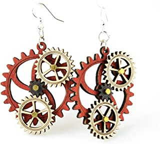 product image for Kinetic Gear Earring 5D