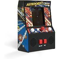 The Bridge Direct Arcade Classics, Juego de máquina pequeño, asteroides, Negro