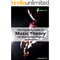 The Complete Guide To Music Theory For Bass Guitar Players book cover