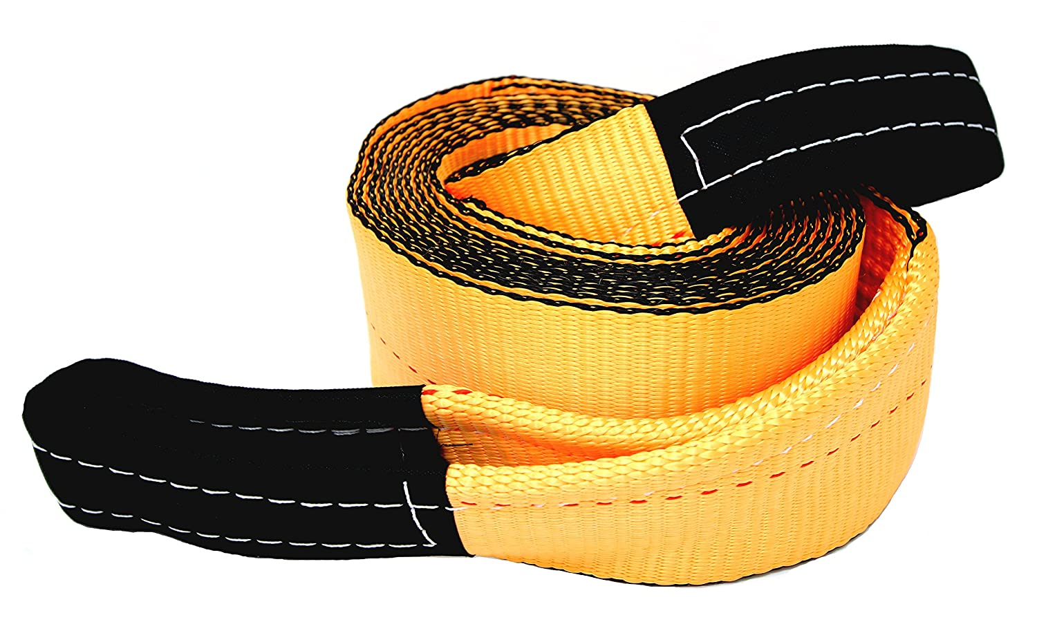 Tanaka 4' Super Duty 35, 000 LB rated Recovery Tow Strap (4' x 20') 000 LB rated Recovery Tow Strap (4 x 20' )