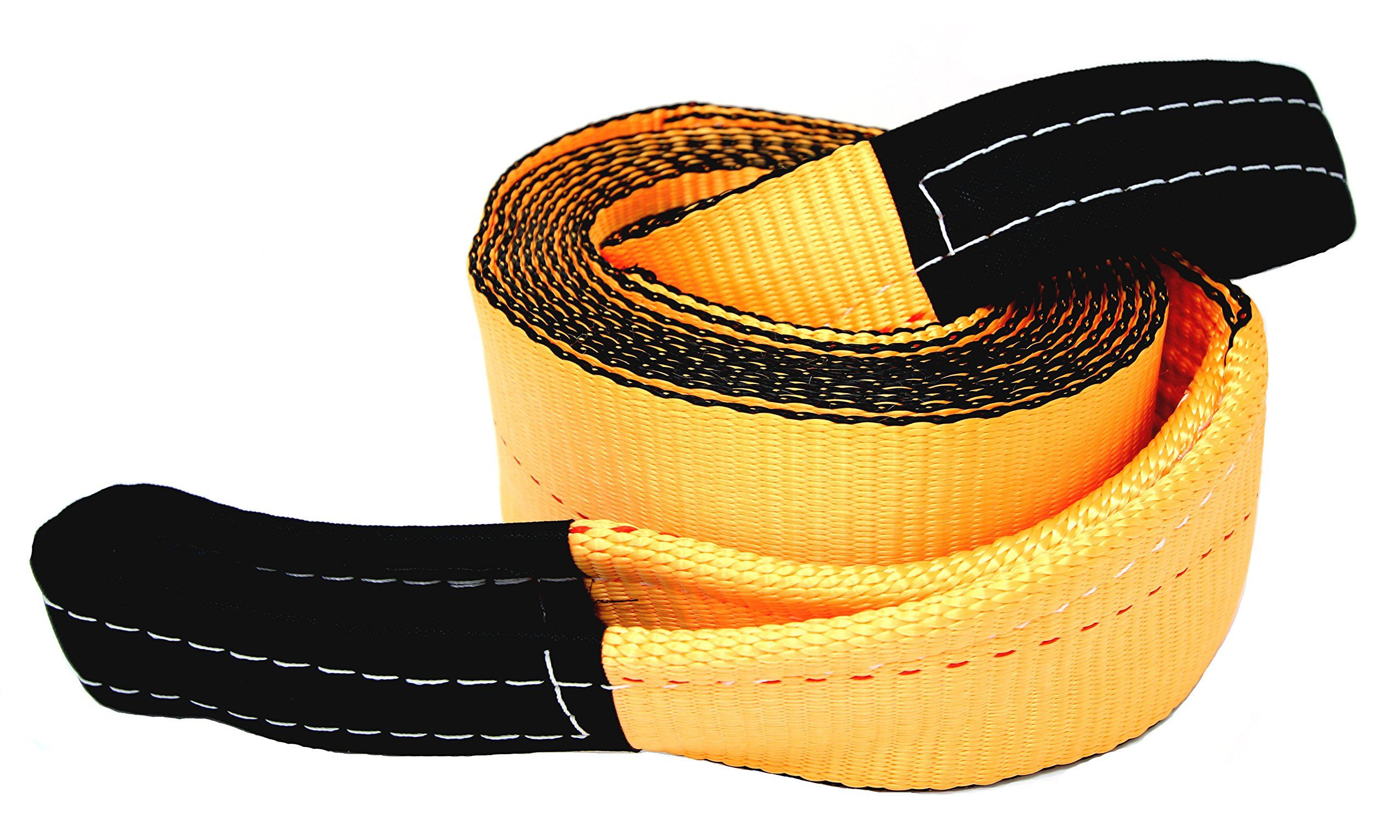 Tanaka 4'' Super Duty 35,000 LB rated Recovery Tow Strap (4'' x 20')