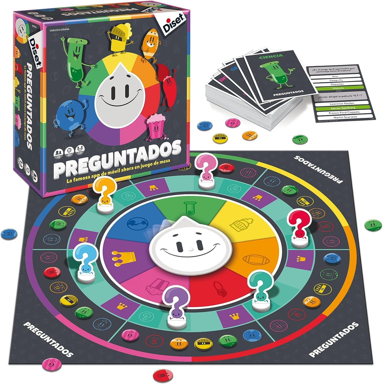 Diset - Preguntados (46934): Amazon.es: Juguetes y juegos