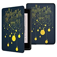 Capa Kindle Paperwhite WB Ultra Leve Auto Liga Desliga Fecho Maganético (Luzes)
