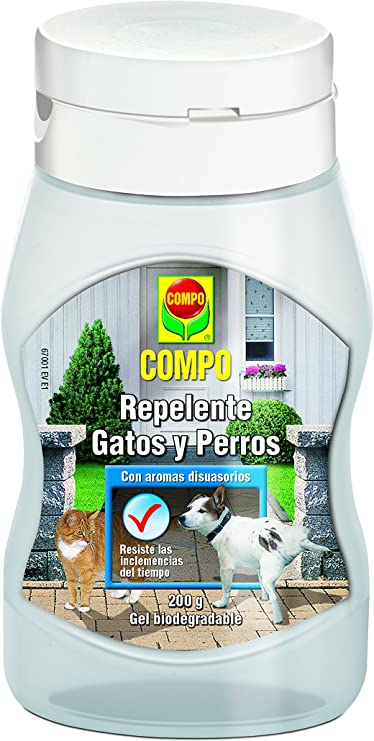 Compo M72021 - Repelente Gatos-Perros Gel 200ml: Amazon.es: Jardín