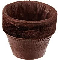 RedMan 53909 Muffin Baking Case Frilled, 5cm x 4cm, Brown (Pack of 50)
