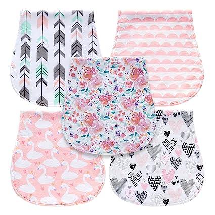 Amazon.com: MiiYoung - Paños para bebé de triple capa, 100 ...