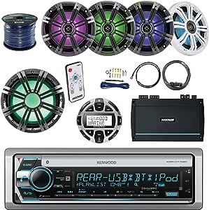 Amazon.com: Kenwood KMR-D772BT Marine Stereo Bundle with