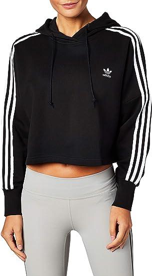adidas Cropped Hood - Sweat-Shirt - Femme: