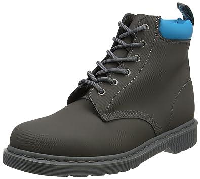 Dr. Martens 939 Gunmetal+Soft Blue Ajax+PU, Bottes Homme, (Gunmetal+Soft Blue), 40 EU