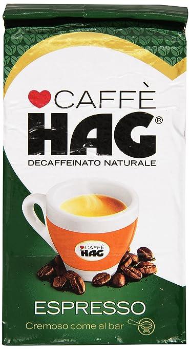 12 opinioni per Hag- Caffè, Decaffeinato Naturale, Espresso- 250 g