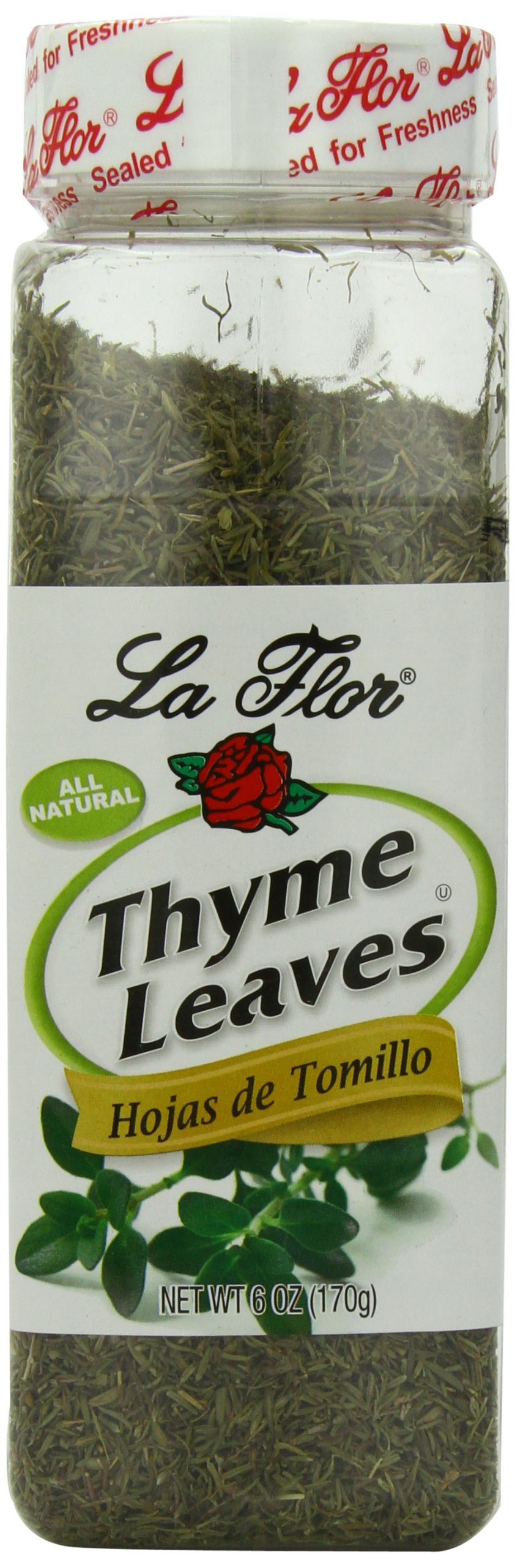 La Flor Spices Leaves, Thyme, 6 Ounce