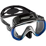 Cressi Liberty - Maschera per Immersioni, Apnea e Snorkeling - Disponibile in Versione Due/Tre Vetri - Silicone Alta qualità
