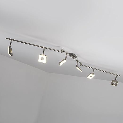 Lámpara LED de techo Spot arco lámpara de techo (6 focos, forma de
