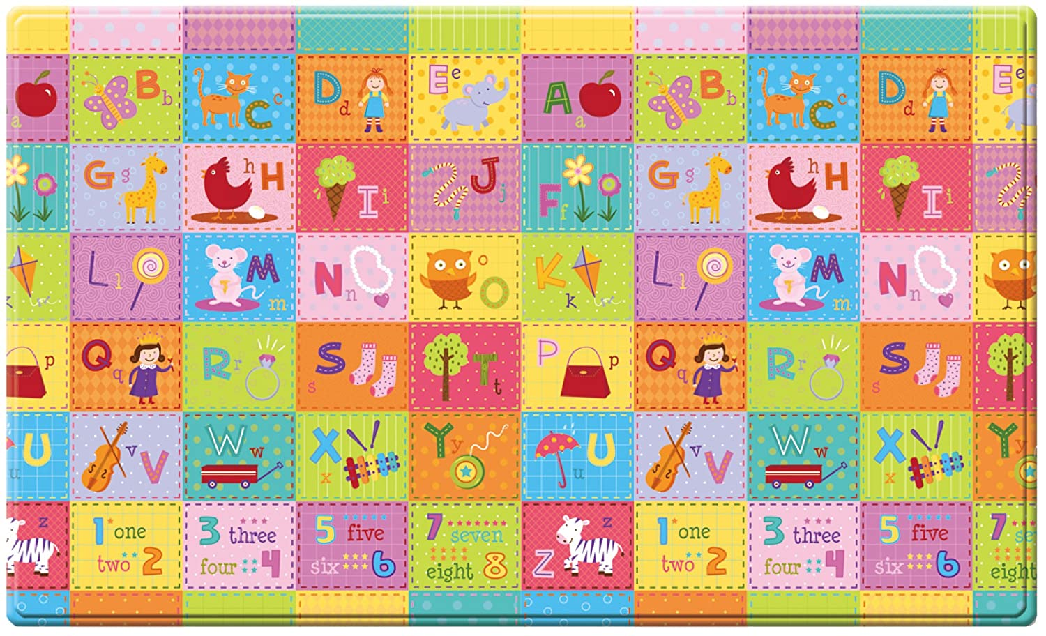 esterilla de juegos para niños - Dwinguler playmat - ZOO - Medium - 1,9m * 1,3m *15mm: Amazon.es: Bebé