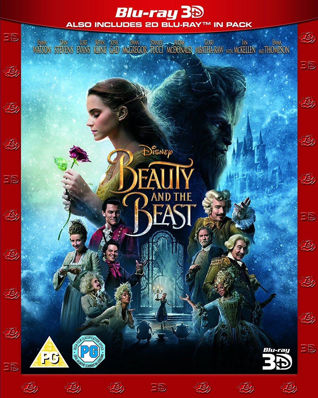 Beauty & The Beast [Blu-ray 3D + Blu-ray 2D] [2017] [Region Free] by Walt Disney Home Video