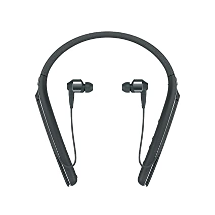 6496a69b859 Amazon.com: Sony Premium Noise Cancelling Wireless Behind-Neck in Ear  Headphones - Black (WI1000X/B): Electronics