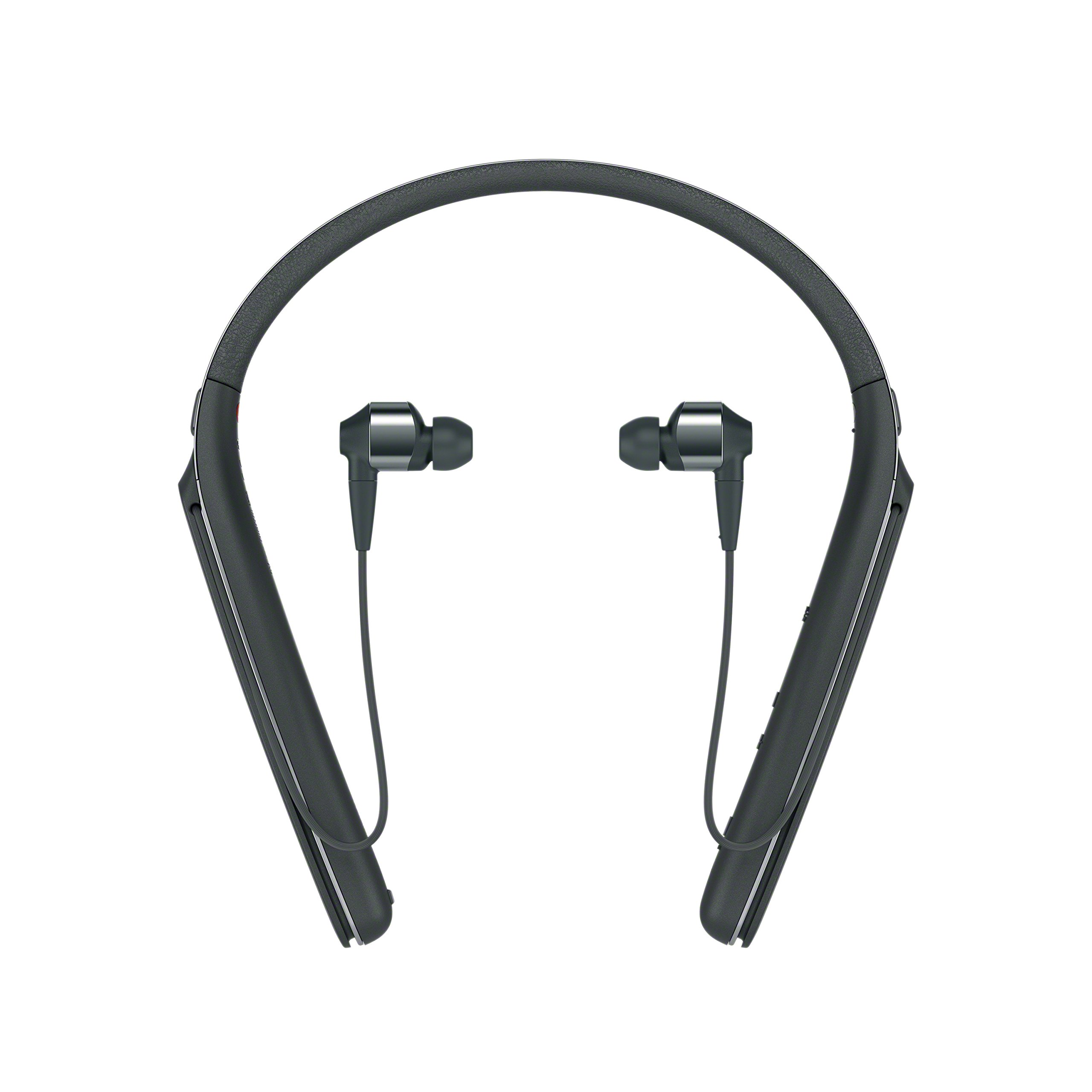Sony Premium Noise Cancelling Wireless Behind-Neck In Ear Headphones - Black (WI1000X/B) by Sony