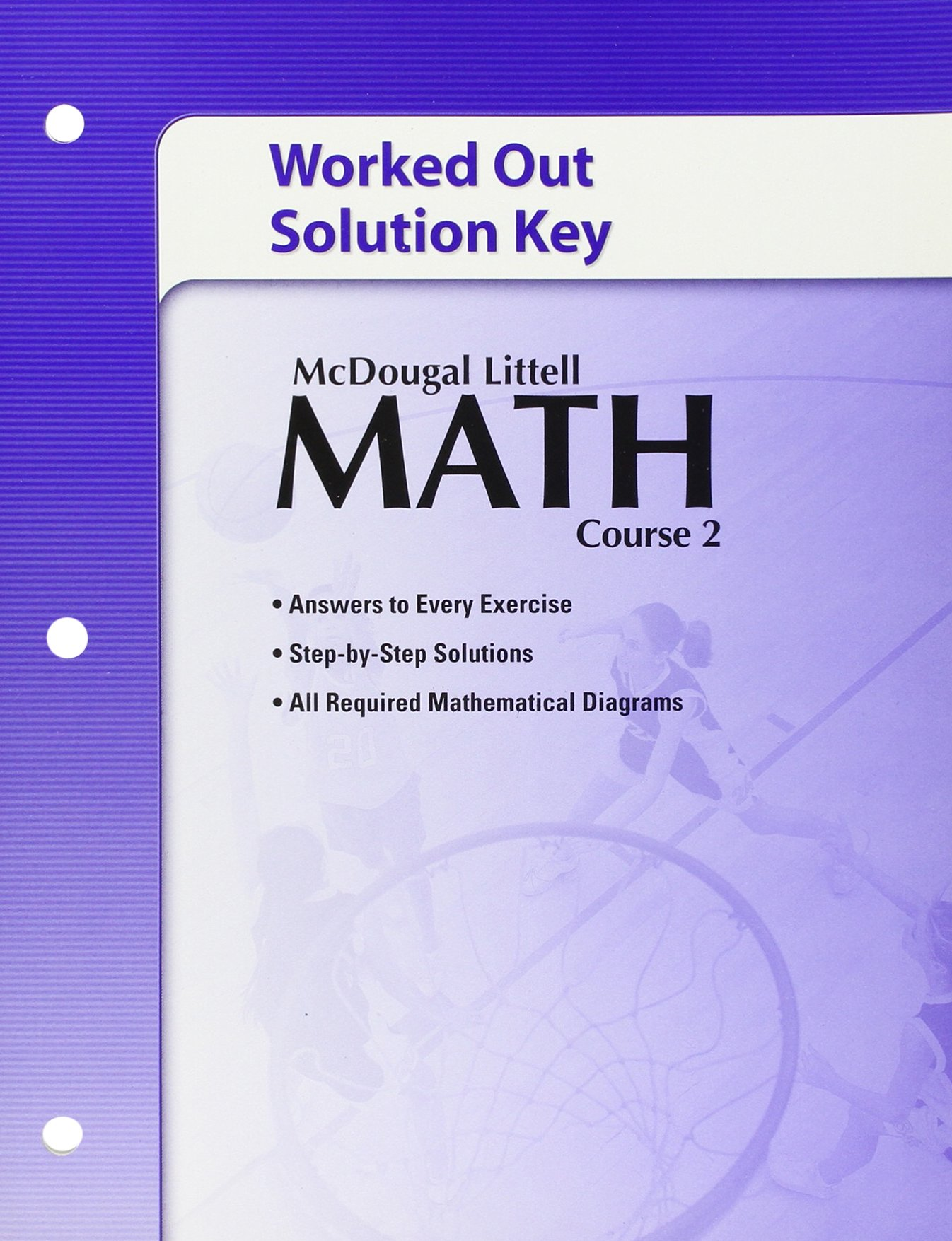 Amazon Math Course 2 Worked Out Solution Key 9780618741151 – Geometry Worksheet Answers Mcdougal Littell