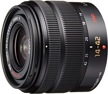 for Panasonic Lumix G-Vario 14-42 mm 3.5-5.6 Lens Cap 52mm red