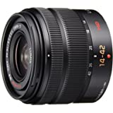 Panasonic LUMIX G VARIO 14-42mm / F3.5-5.6 II ASPH. / MEGA O.I.S. Digital Interchangeable Zoom Lens - H-FS1442A - Black