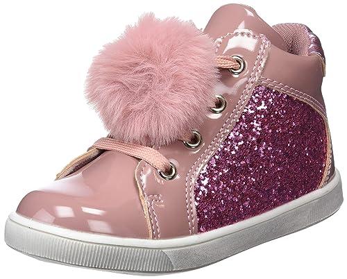 801d320fa0f Conguitos Botin Glitter con Pompon, Botas Slouch para Niñas: Amazon.es: Zapatos  y complementos