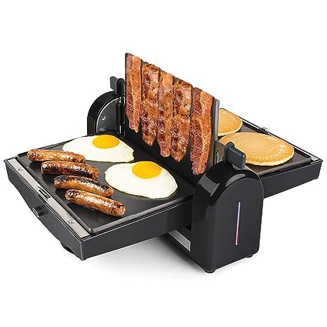 Amazon.com: HomeCraft FBG2 - Prensa y plancha de bacon ...