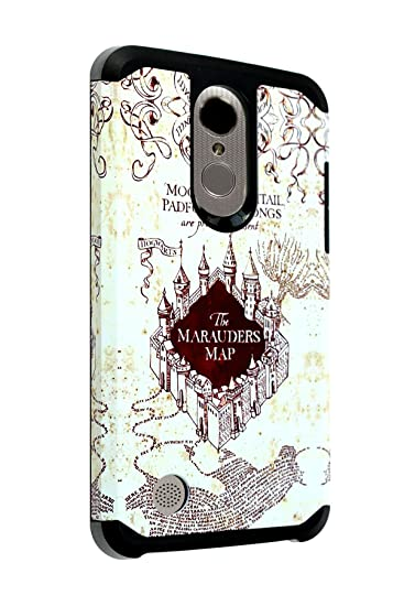 san francisco 8bcdf 28922 LG Aristo Harry Potter Case LG Phoenix 3/Fortune/K8 2017/MS210/Risio  2/Rebel 2 LTE Case IMAGITOUCH 2-Piece Style Armor Case w/Flexible Shock ...