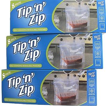Bolsas de almacenamiento para congelador con cierre ...